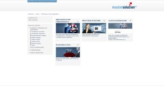 MASTERSOLUTION LMS - Course View